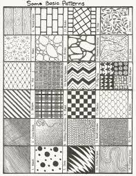 Patterns To Draw Delectable Interior Patterns To Draw Easy Cool Simple Patterns To Draw Drawn