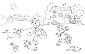 Disegni Da Colorare Estate Per Bambini Con Disegno Estate Per