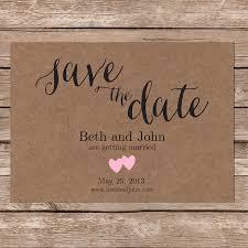 tags modern wedding rustic wedding save the date card