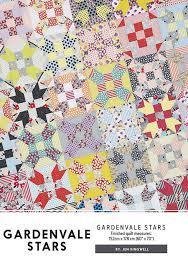 Gardenvale Stars Quilt Pattern - Jen Kingwell &  Adamdwight.com