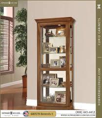 680478 berends ii camden oak curio cabinet glass
