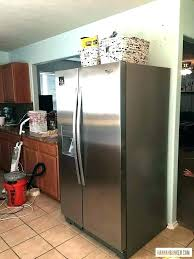 refrigerator that looks like a cabinet. Fine That Refrigerator That Looks Like Cabinets Gap Between Fridge And Cabinet A Over  Kitchen C And Refrigerator That Looks Like A Cabinet E