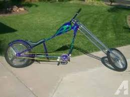 chopper bike custom 8ft long 1 of a kind nice fresno for