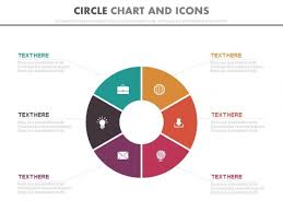 Circle Chart With Icons For Global Business Strategy