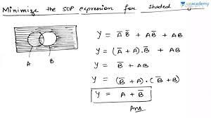 Boolean Algebra Venn Diagram Questions On Venn Diagrams
