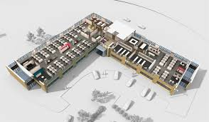 office space plan. Beautiful Office One Bracknell Boulevard Space Plan For Office