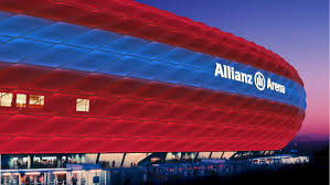 Bayern Munich Stadium Lights Philips Becomes Official Lighting Partner For Fc Bayern