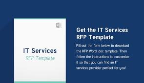How To Write An It Services Rfp (W/ Bonus Rfp Template)