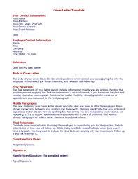 Cover Letter Format Jvwithmenow Com