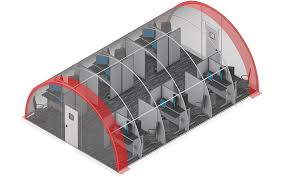 small portable office. Quonset-Style Modular Office Buildings For Big And Small Requirements. Learn More About SQX Series Buildings. Portable U