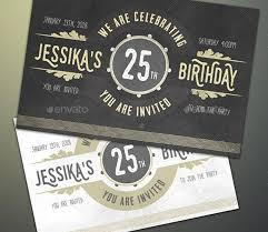 25 Premium Birthday Party Invitation Templates Psd