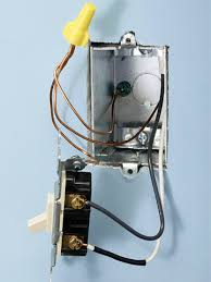 about single pole switches how to install a switch or receptacle Double Single Pole Switch Wiring end of run switch enlarge image double pole single throw switch wiring
