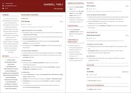 Office Management Resume Office Manager Resume A 10 Step 2019 Guide With Samples