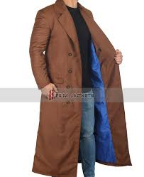 10th doctor brown coat