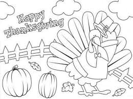 Small Picture Thanksgiving Pictures To Color Coloring Coloring Pages