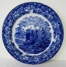 Wedgwood Patterns Cool ANTIQUE WEDGWOOD ENGLISH Staffordshire Flow Blue Chinese Pattern