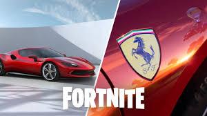 Der neue Ferrari 296 GTB kommt zu Fortnite