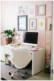 cute office. Cute Office. Love The Light Pink Walls Office