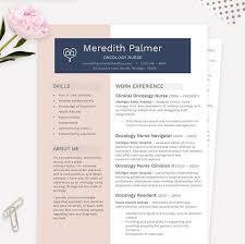 Chemotherapy Nurse Sample Resume Interesting Oncology Nurse Resume Cover Letter References CV Microsoft Etsy