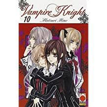 Risultati immagini per vampire knight manga