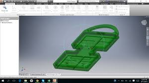 Autodesk Inventor Mold Design Tutorial How To Make Mold Of A Part In Inventor Pro 2016 Autodesk