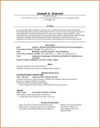 Cv Ms Office Word Resume Template Office Word Resume Templates Free Ms