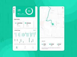 Health Tracking App Ui By Pooja Pawar On Dribbble