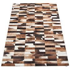 pure linea cowhide rug