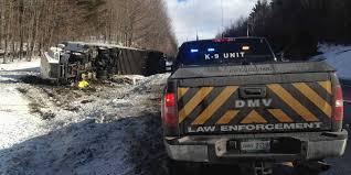 dmv enforcement at accident site