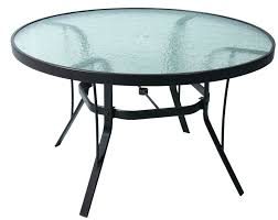 48 round glass table top x square 3 4 thick inch patio replacement