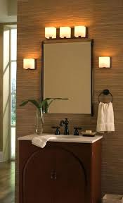 Bathroom Vanity Light Height Impressive Bathroom Vanity Light Height Best Bathroom Lights Over Mirror Ideas