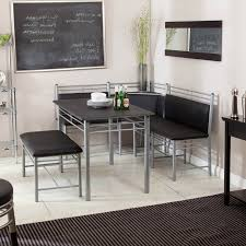 Dinette Set With Storage Bench Dining Room Corner Table Brilliant