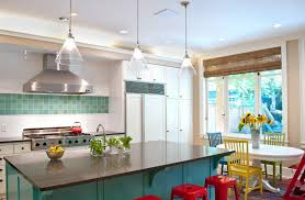 Small Kitchen Pendant Lights Bright Colors Schemes For Small Kitchens With Black Kitchen Island