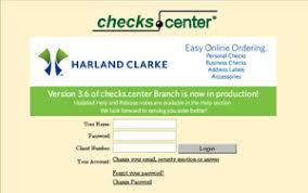 Checks Center Support Harland Clarke