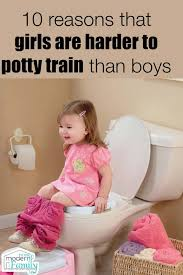 Girls Are Harder To Potty Train Than Boys Your Modern Family