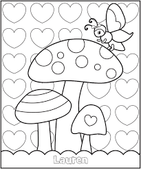 Free Coloring Pages Personalized Coloring Pages From Frecklebox