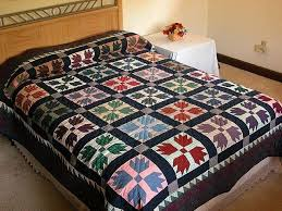 630 best BEAR`S PAW/BEAR QUILTS images on Pinterest | Bear claws ... & Plaid Bears Paw Quilt -- splendid handcrafted quilt from Lancaster PA.  Specially made by an Amish woman in her own home. Adamdwight.com