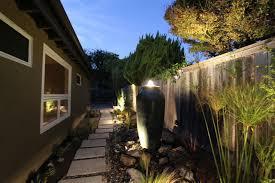 lighting a midcentury modern landscape design  midcentury