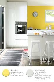 modern kitchen colors 2016. Benjamin Moore\u0027s \u0027Banana Yellow 2022-40\u0027 Paint Color Provides A Modern Kitchen Colors 2016 U