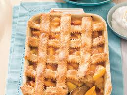 southern peach cobbler. Unique Southern And Southern Peach Cobbler C