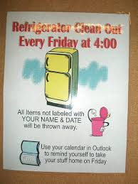 clean refrigerator sign office. clean out refrigerator sign fridge clipart. school front office clipart e