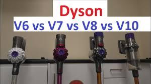 Dyson V7 Models Comparison Chart Dyson Comparison V6 Vs V7 Vs V8 Vs V10