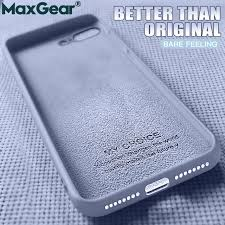 Оригинальный жидкий силиконовый роскошный <b>чехол для Apple</b> ...