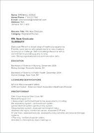 Resume Cover Letters For Nurses Resume Sample Collection