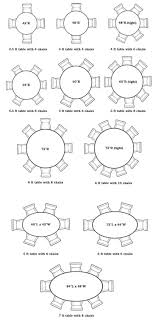 articles with round dining table sizes for 6 tag