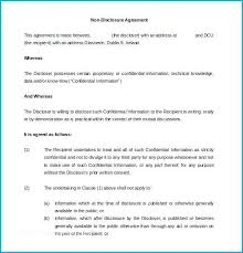 Simple Nda Template Employee Nda Agreement Umbrello Co