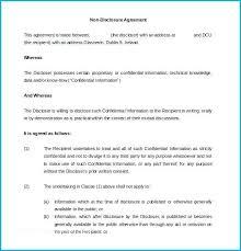 Nda Template For Startup Employee Nda Agreement Umbrello Co