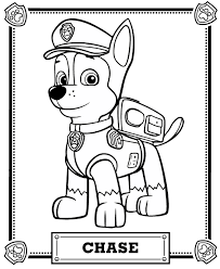 Small Picture PAW Patrol Coloring Pages GetColoringPagescom