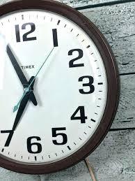 electric wall clocks large vintage school clock model go back uk vint