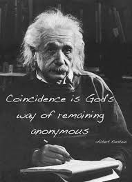 Einstein Quotes On God Fascinating The Quotable Albert Einstein On Coincidence Quotes Good Advice